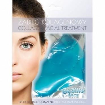 Beauty Face - Mascarilla de colágeno hidratante y reafirmante - Algas Marinas