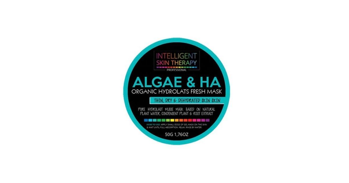 Beauty Face - Mascarilla en gel - Agua Herbal de Algas y Ácido Hialurónico