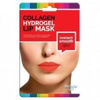 """Beauty Face - Máscara de colágeno para labios Efecto """"Suavidad Instantanea"""""""