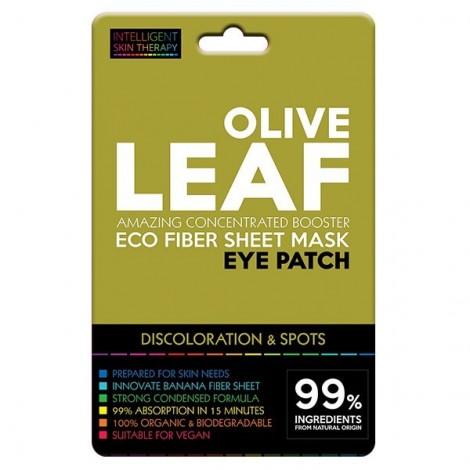 Beauty Face - Parches para contorno de ojos de Fibras Eco - Hoja de Olivo