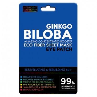 Beauty Face - Parches para contorno de ojos de Fibras Eco - Ginkgo Biloba
