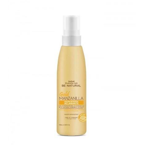 Be Natural - Gold Manzanilla - Loción Intensiva Aclarante