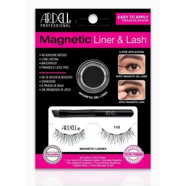 Ardell -  Magnetic - Kit de pestañas Magnéticas & Liner - 110