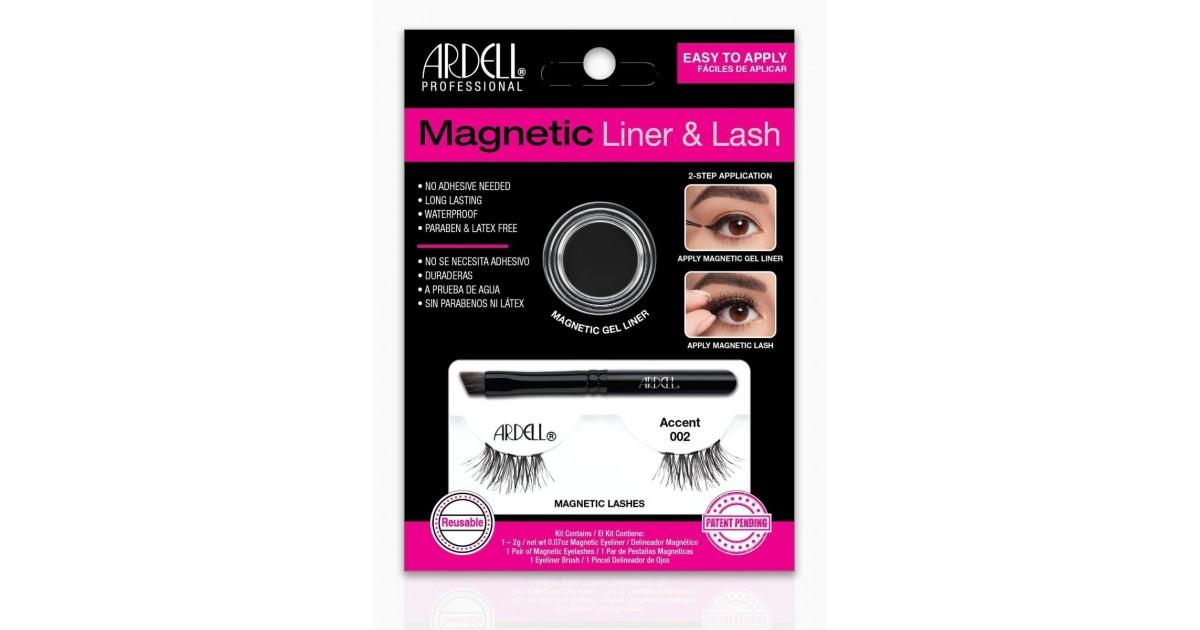 Ardell -  Magnetic - Kit de pestañas Magnéticas & Liner - Accent 002