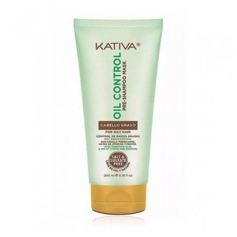 Kativa - Pre-Champú Exfoliante Oil Control 200 ml