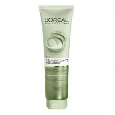 arcillas puras gel limpiador purificante verde 150 ml