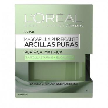 L'Oreal - Arcillas Puras - Mascarilla Purificante y matificante con Eucalipto - 50ml