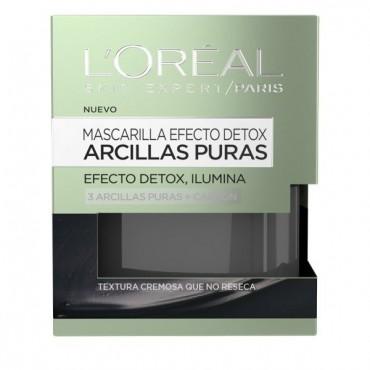 L'Oreal - Arcillas Puras - Mascarilla Efecto Detox e Iluminador - 50ml