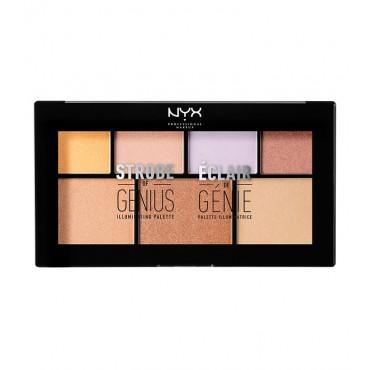 Nyx Professional Makeup - Paleta de iluminadores Strobe of Genius - STGP01