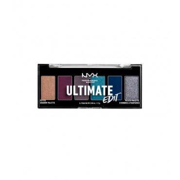 Nyx Professional Makeup - Paleta de sombras Ultimate Edit - USPP04: Ash