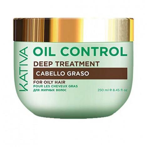 Kativa -  Oil Control - Tratamiento Capilar Profundo - 250ml