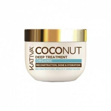 Kativa - Coconut - Mascarilla con Aceite de Coco Orgánico - 250ml