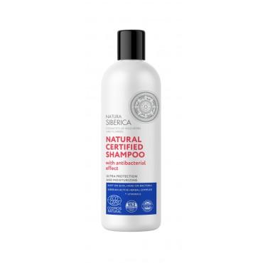 Natura Sibérica -Champú Natural Certificado Efecto Higienizante - 400ml