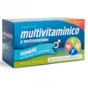 ONEVIT - Multivitamínico - Hombre - 45 cápsulas