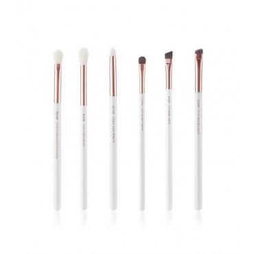 Jessup Beauty - Set de pinceles 6 piezas - T221: White/Rose Gold