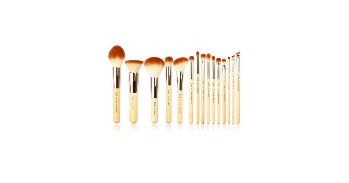 Jessup Beauty - Set de brochas 15 piezas - T140: Bamboo