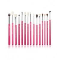 Jessup Beauty - Set de Pinceles 15 piezas - T197: Rose Carmin/Silver