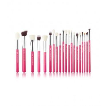 Jessup Beauty - Set de brochas 20 piezas - T205: Rose Carmin/Silver