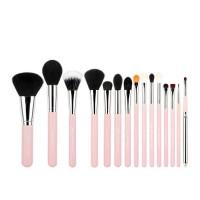 Jessup Beauty - Set de brochas 15 piezas - T094: Pink/Silver