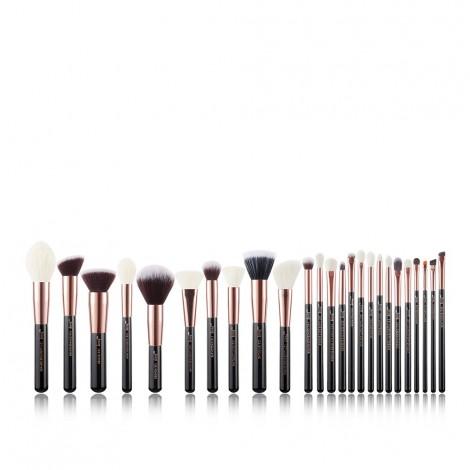 Jessup Beauty - Set de brochas 25 piezas - T155: Black/Rose Gold
