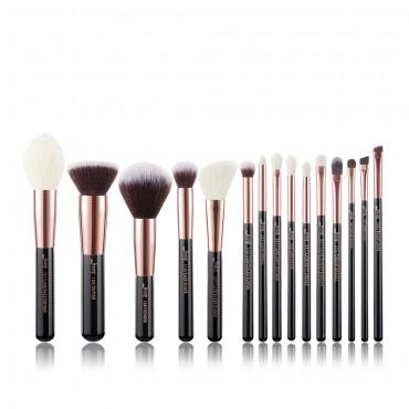 Jessup Beauty - Set de brochas 15 piezas - T160: Black/Rose Gold