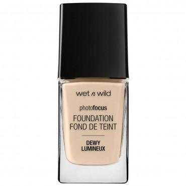 Wet N Wild - Base de maquillaje Photofocus Dewy - Nude Ivory