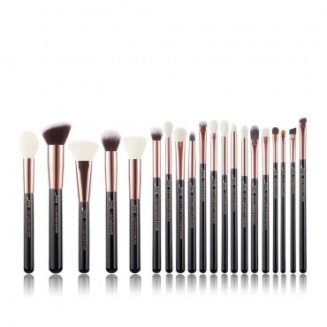 Jessup Beauty - Set de brochas 20 piezas - T165: Black/Rose Gold