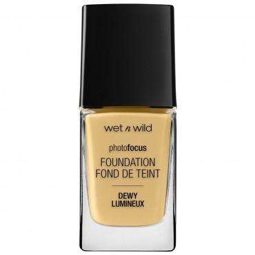 Wet N Wild - Base de maquillaje Photofocus Dewy - Golden Beige
