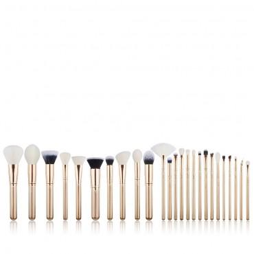 Jessup Beauty - Set de brochas 25 piezas - T401: Golden/Rose Gold