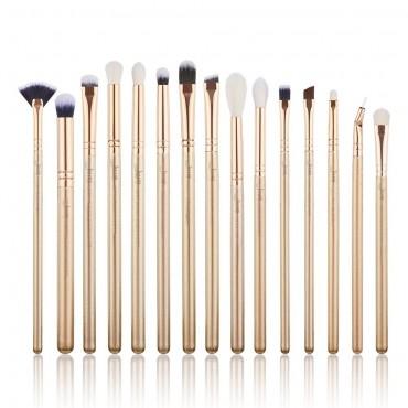 Jessup Beauty - Set de pinceles 15 piezas - T407: Golden/Rose Gold