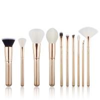 Jessup Beauty - Set de brochas 10 piezas - T410: Golden/Rose Gold