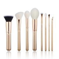 Jessup Beauty - Set de brochas 8 piezas - T415: Golden/Rose Gold