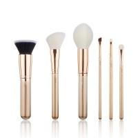 Jessup Beauty - Set de brochas 6 piezas - T419: Golden/Rose Gold