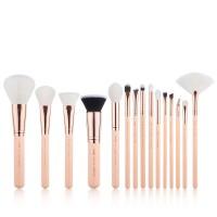 Jessup Beauty - Set de brochas 15 piezas - T446: Peach Puff/Rose Gold