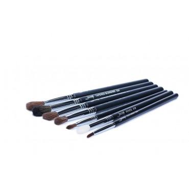 Jessup Beauty - Set de Pinceles 7 piezas - T122: Black/Silver