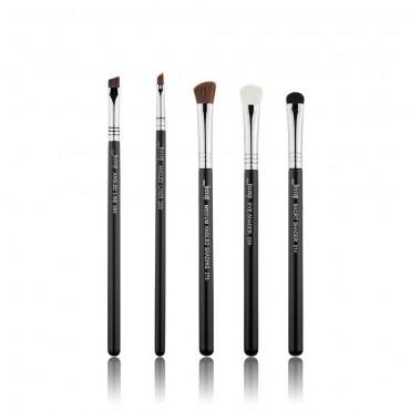 Jessup Beauty - Set de Pinceles 5 piezas - T302: Black/Silver