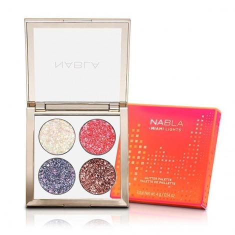 Nabla - Miami Lights Collection - Glitter Palette
