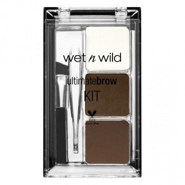 Wet n Wild - Kit de Cejas Ultimate 963: Ash Brown