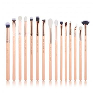 Jessup Beauty - Set de pinceles 15 piezas - T447: Peach Puff/Rose Gold