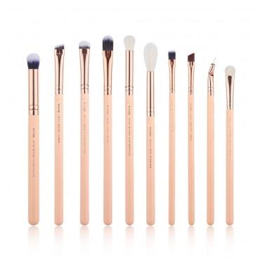 Jessup Beauty - Set de pinceles 10 piezas - T452: Peach Puff/Rose Gold