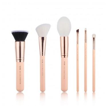 Jessup Beauty - Set de brochas 6 piezas - T459: Peach Puff/Rose Gold