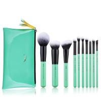 Jessup Beauty - Set de brochas 10 piezas - T276: Neo Mint Collection