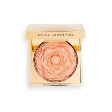 Revolution Pro - Iluminador en polvo Lustre Highlighter - Pink Rose