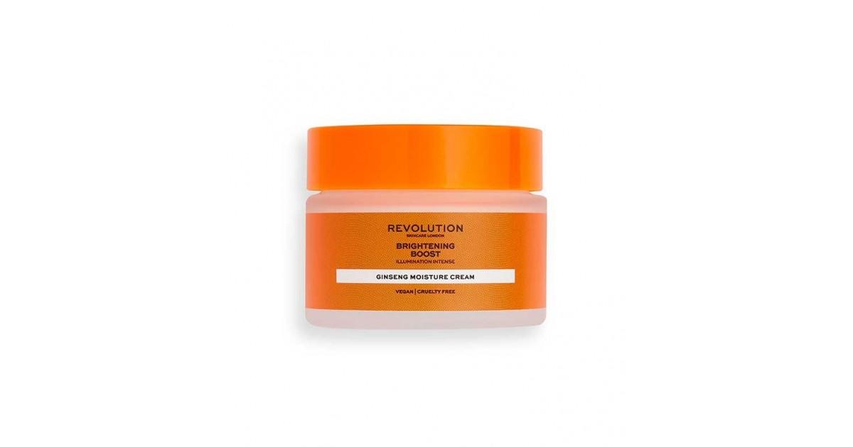 Revolution Skincare - Crema hidratante con ginseng - Brightening Boost