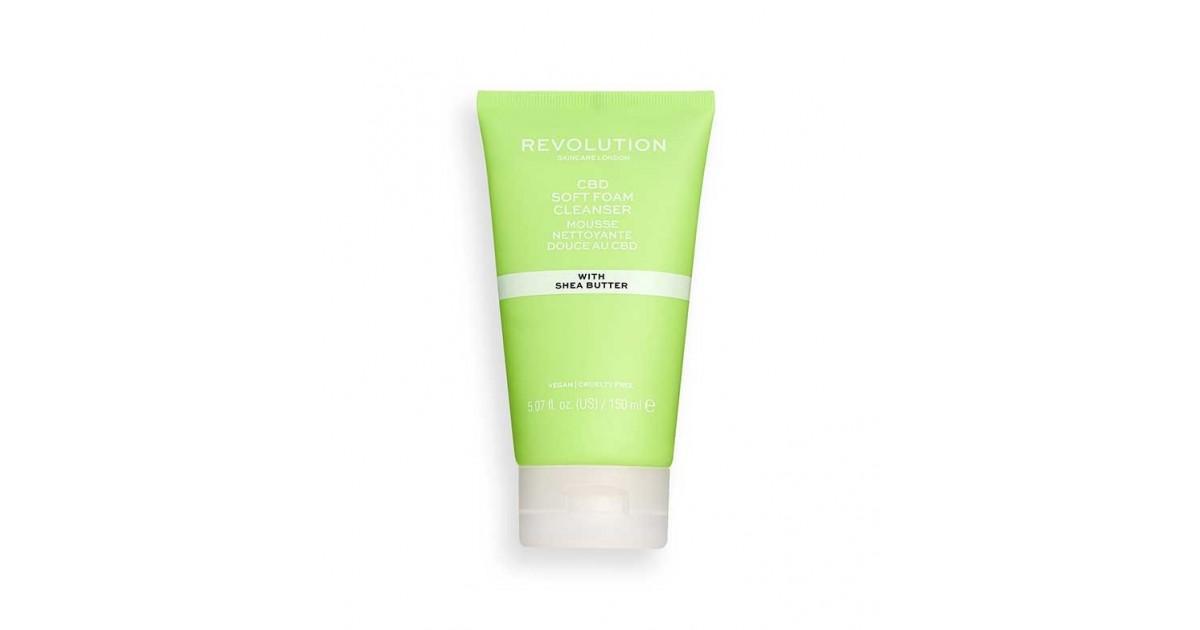 Revolution Skincare - Limpiador en espuma suave de CBD
