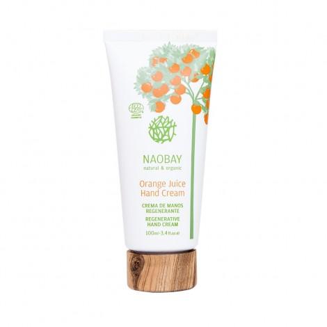 Naobay - Crema de Manos Regenerante de Naranja