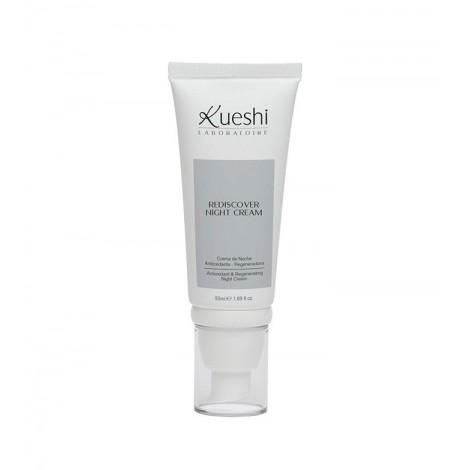 Kueshi - Rediscover - Crema de Noche Antioxidante y Regeneradora - 50ml