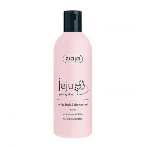 Ziaja - Gel de baño blanco - Jeju Young Skin
