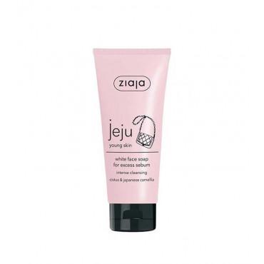 Ziaja - Jeju Young Skin - Jabón facial blanco