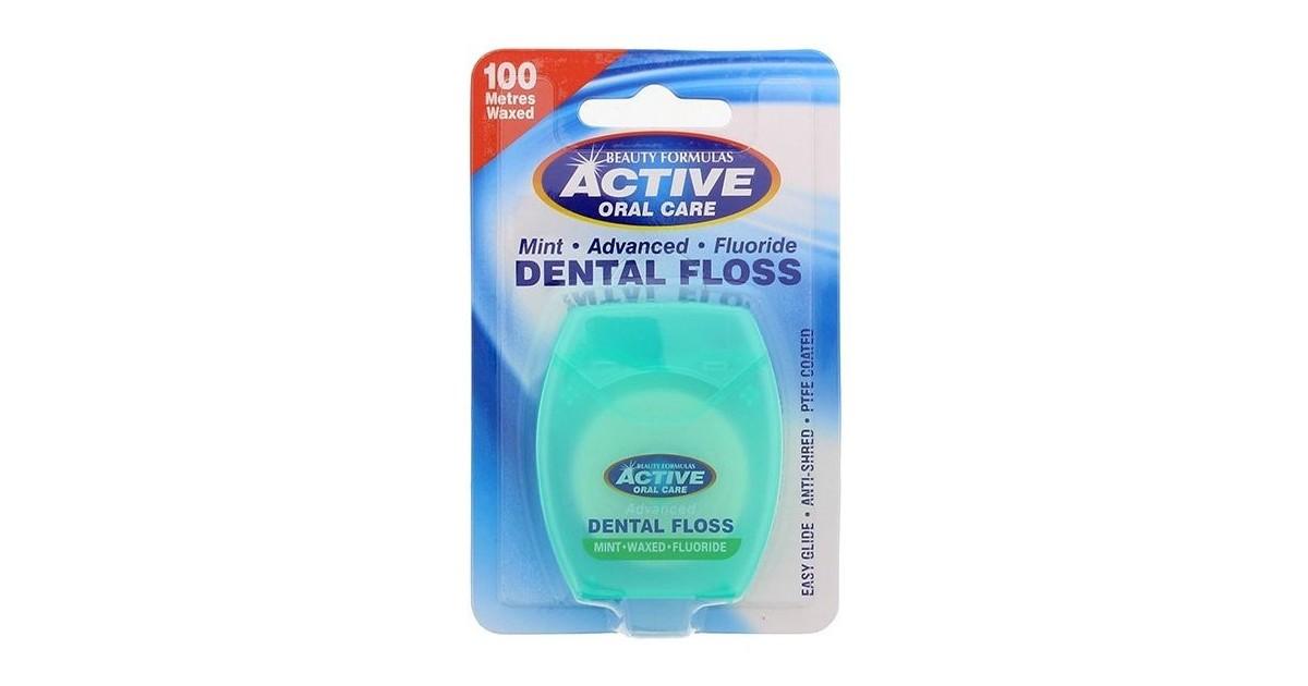 Beauty Formulas - Hilo dental menta + flúor - 100 metros